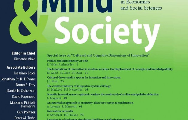 "Mind&Society about ""Cultural and Cognitive Dimensions of Innovation"""