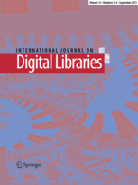 International Journal on Digital Libraries – CfP Special issue on Knowledge Maps and Information Retrieval (KMIR)