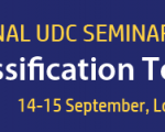 Call for papers – UDC Seminar September 14-15, 2017